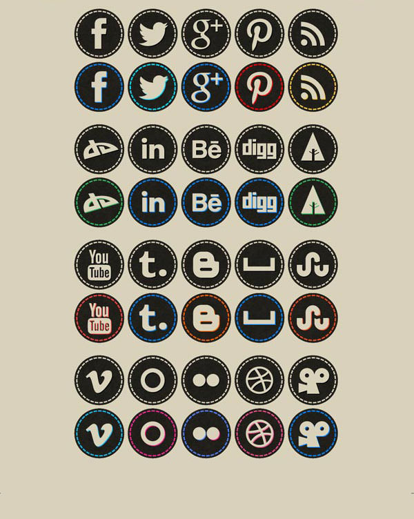 Social Media Buttons,Facebook Button,Twitter Button
