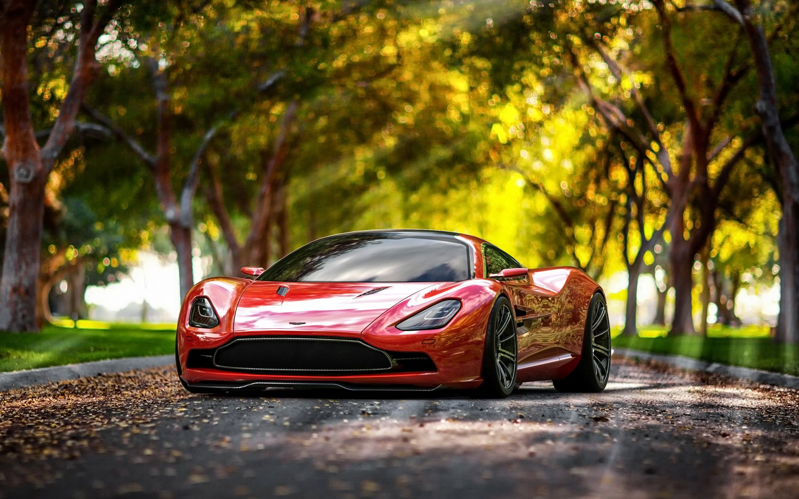 Amazing Aston Martin Car Background