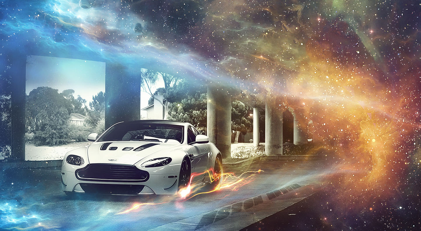 Animated Aston Martin Background