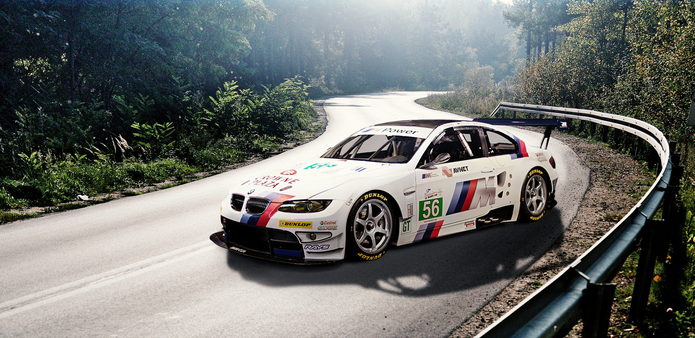 BMW Race Car Background