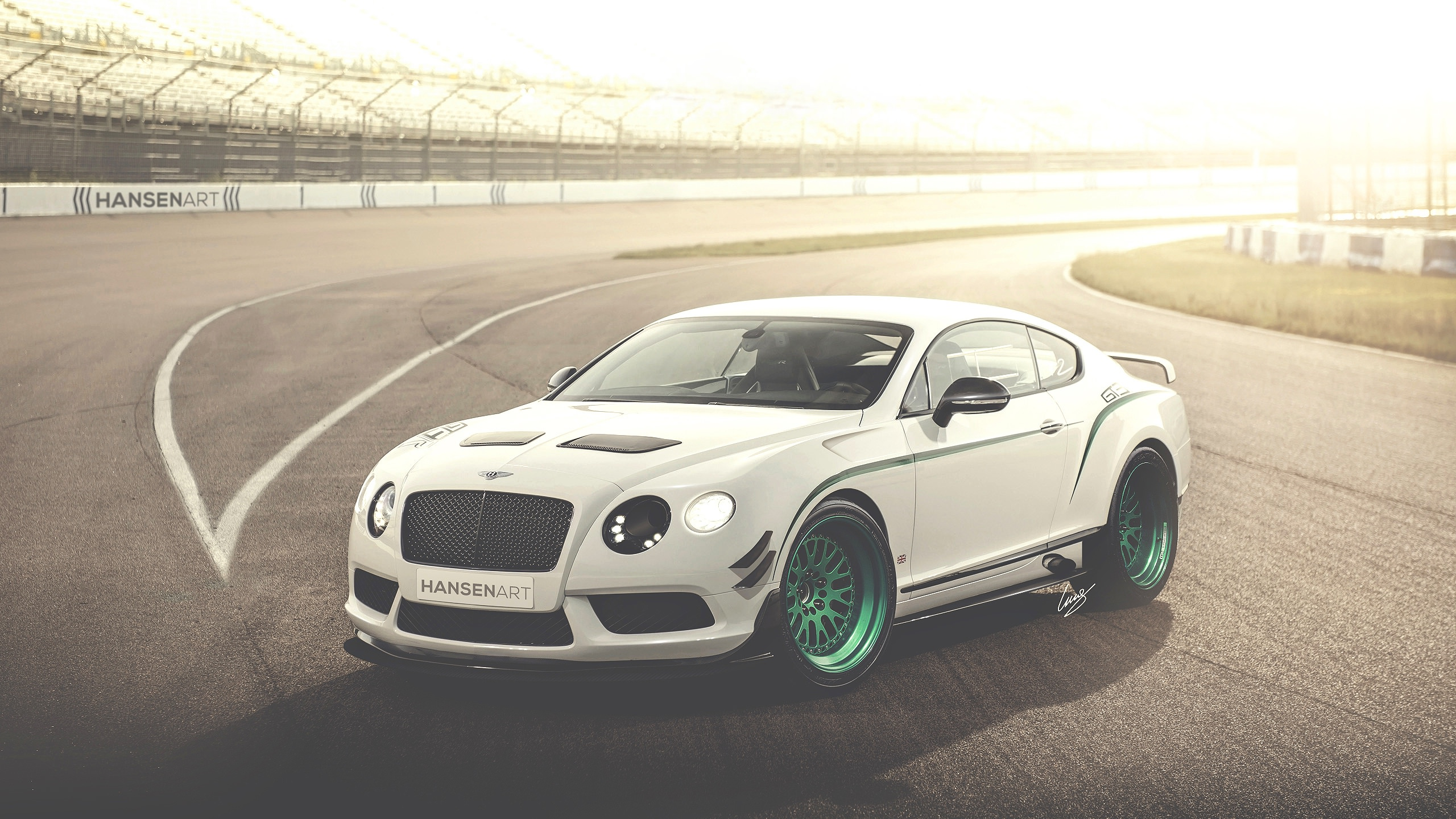 Bentley Continental Background