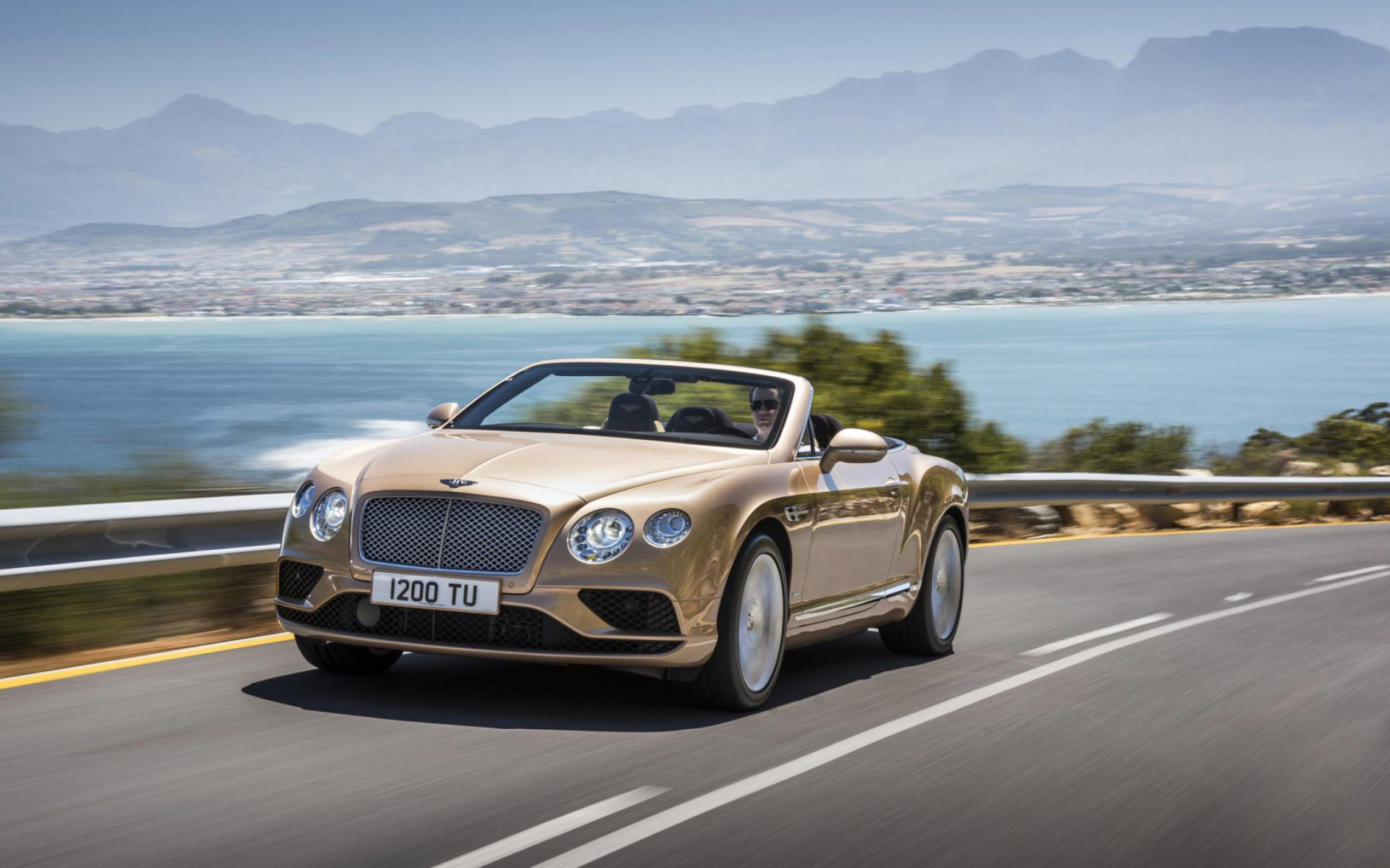 Bentley Continental Car Background
