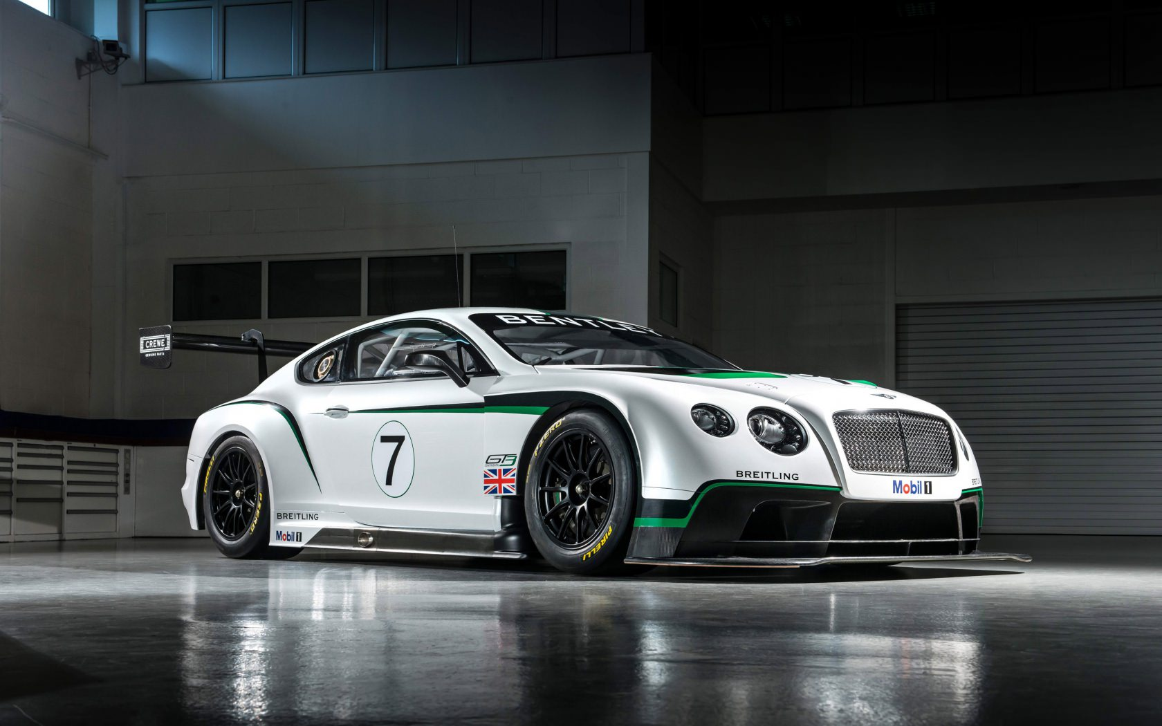 Bentley Sports Car Background