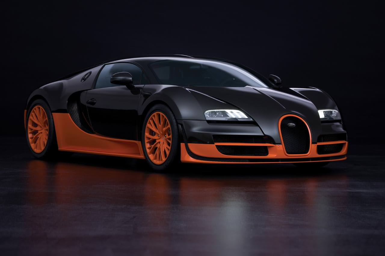 Black Bugatti Car Backgrounds