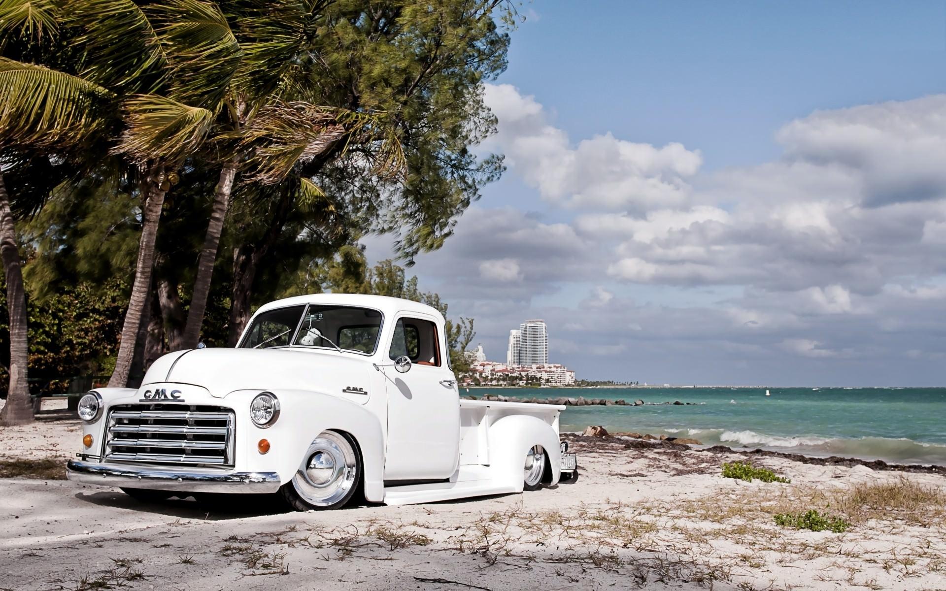 Classic GMC Truck Background