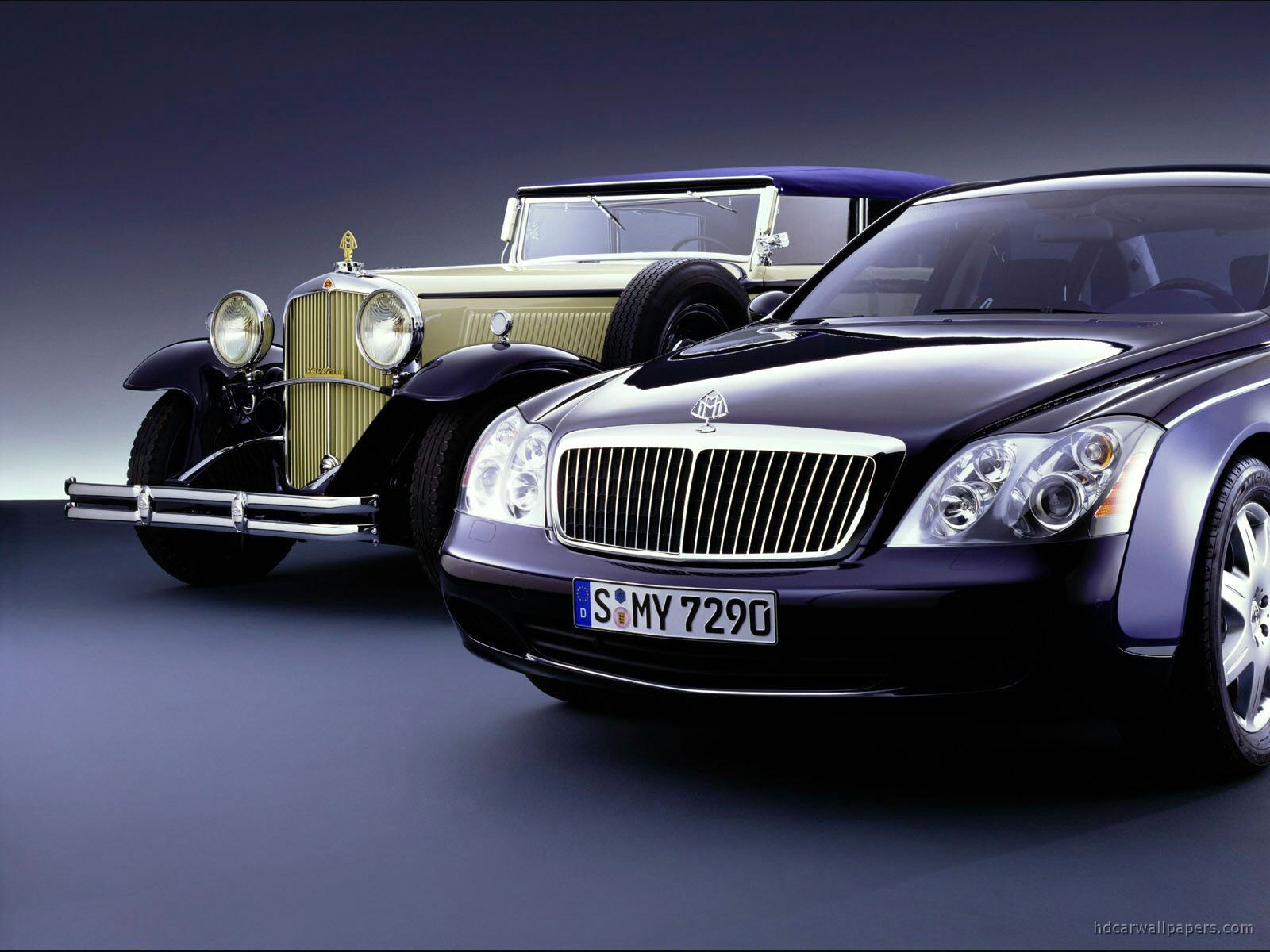 Maybach Car Background