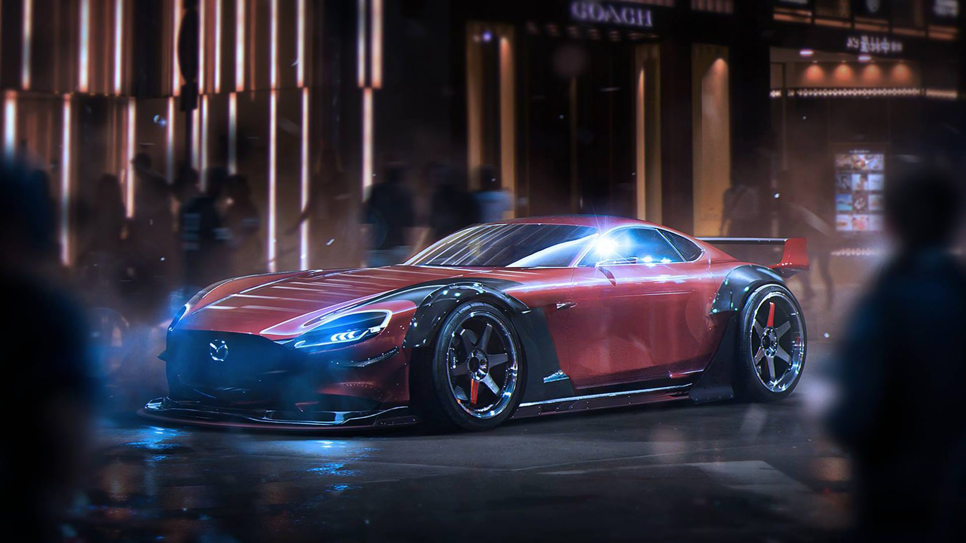 Mazda RX Vision Background