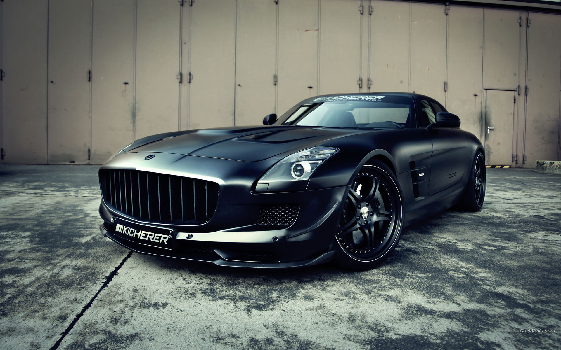 Mercedes Benz Sls Background