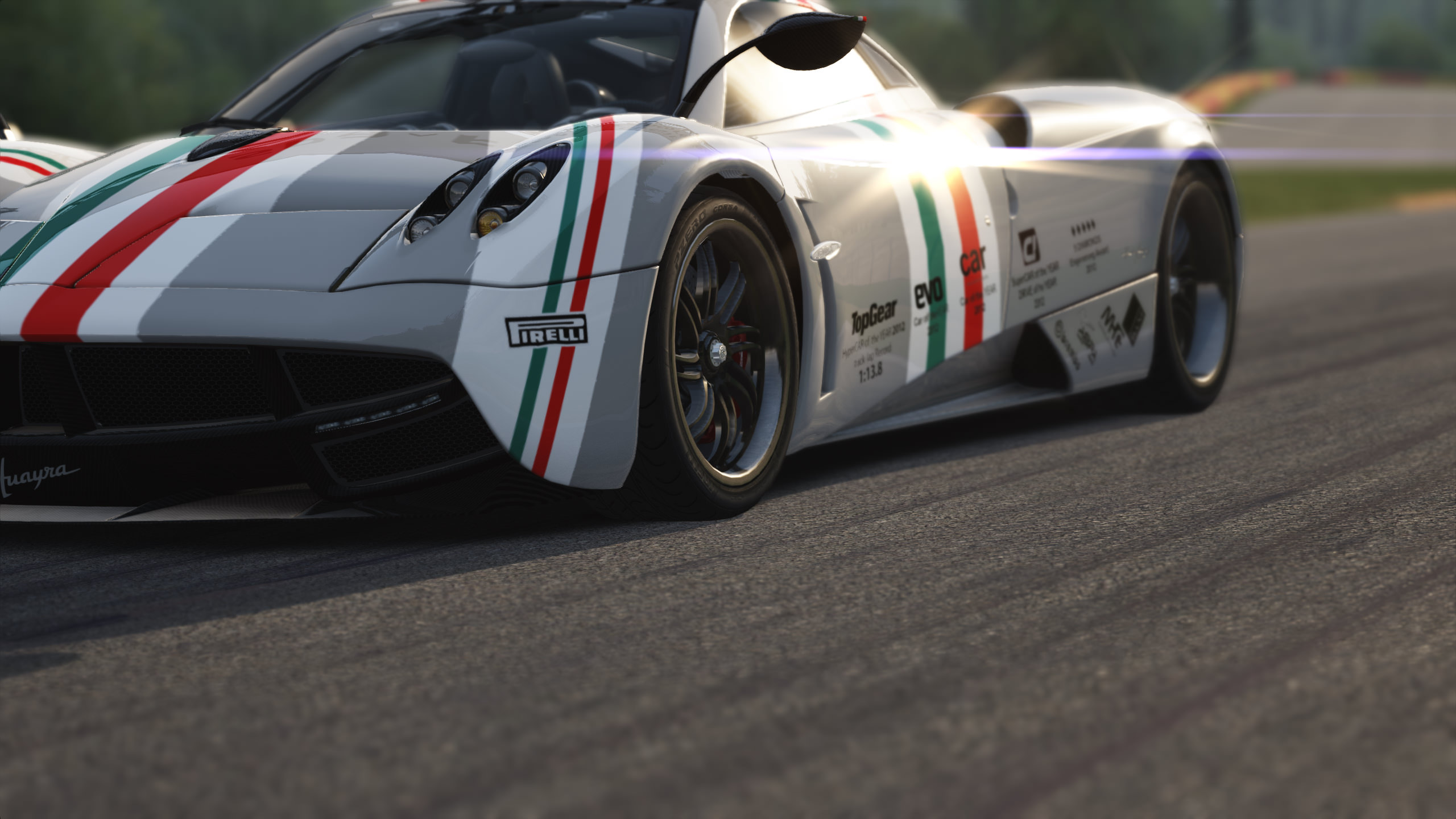 Pagani Video Game Background