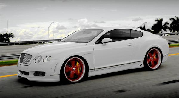 White Bentley Wallpaper