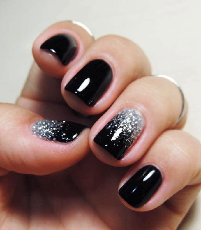 Diy Glitter Nail Design