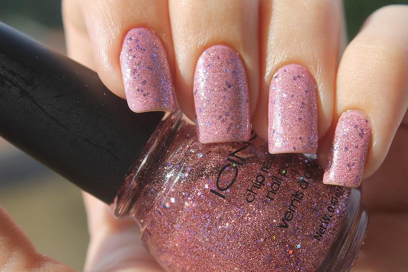 Muito Glitter Nail Design