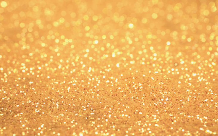 champagne gold glitter background