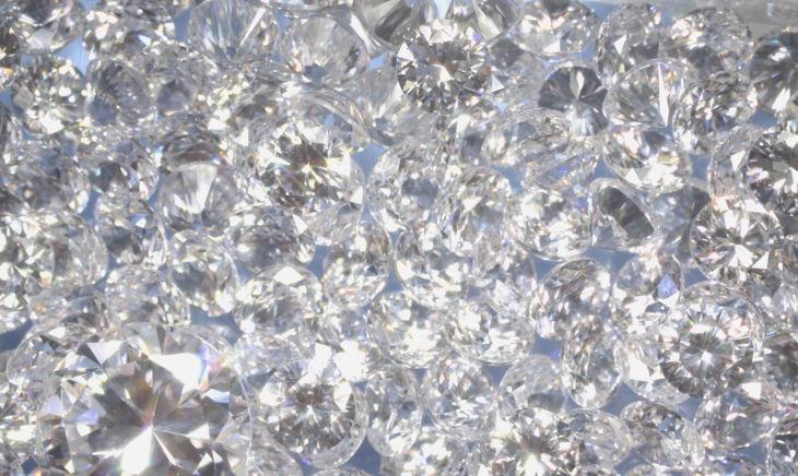 Diamond Sparkle Background