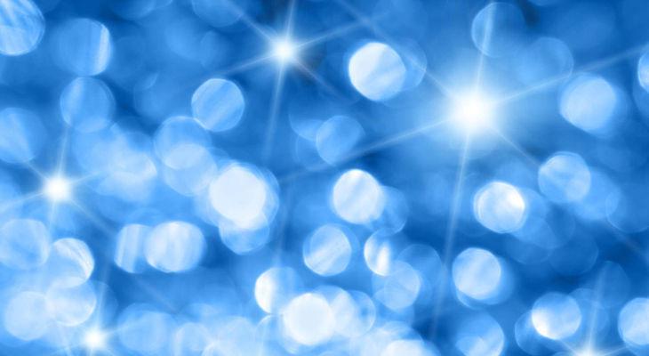 Blue Sparkle Background