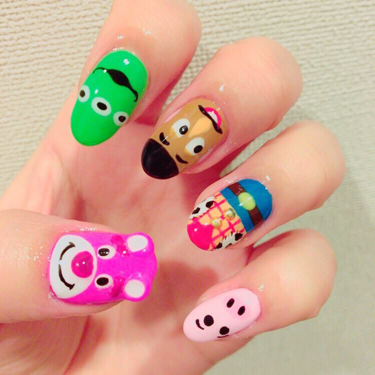 Eye Disney Nail Design