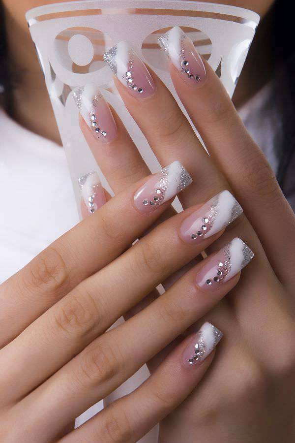 Pink Silver Nail Design - 38+ Silver Nail Designs Nail Designs Design Trends - Premium PSD