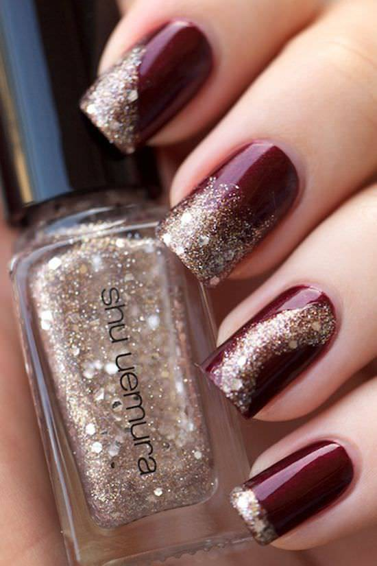 silver nail designs16