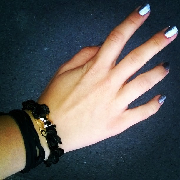 Silver Nail Designs