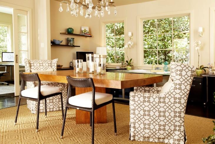home office interior design idea