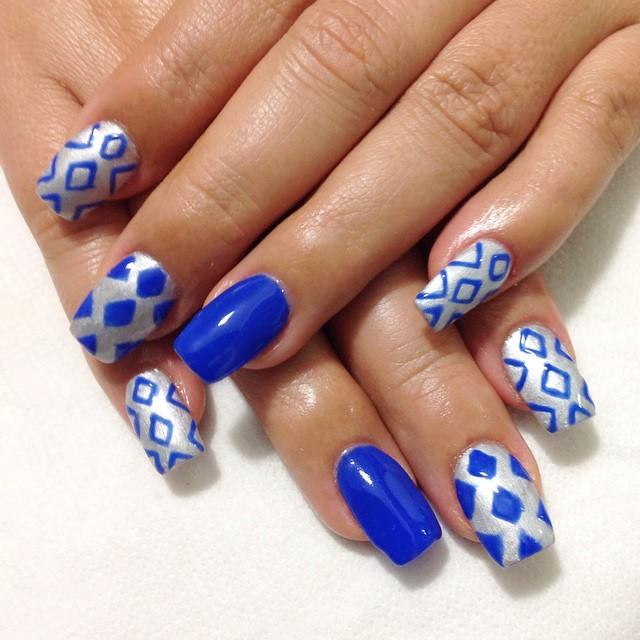 silver nail designs42