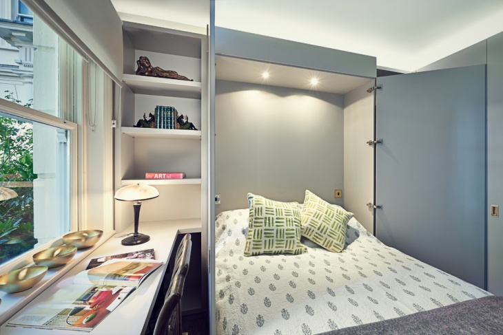hideaway beds for small spaces