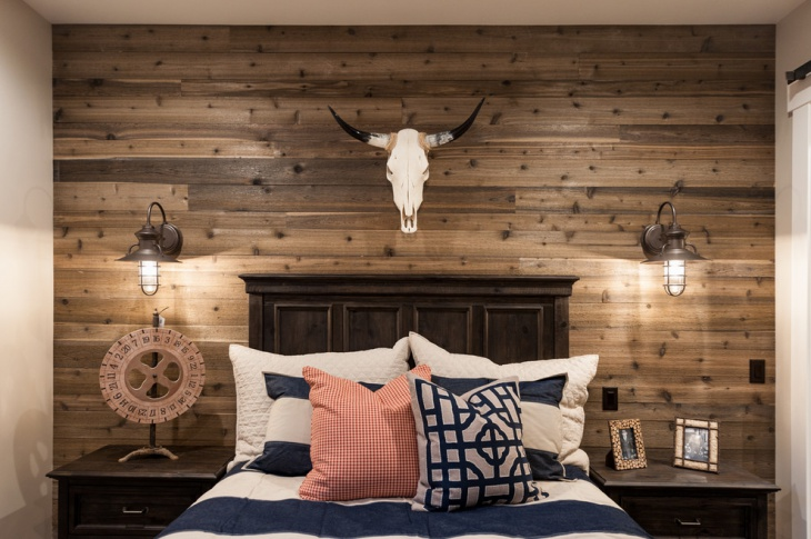 bedroom browwn wooden headboard