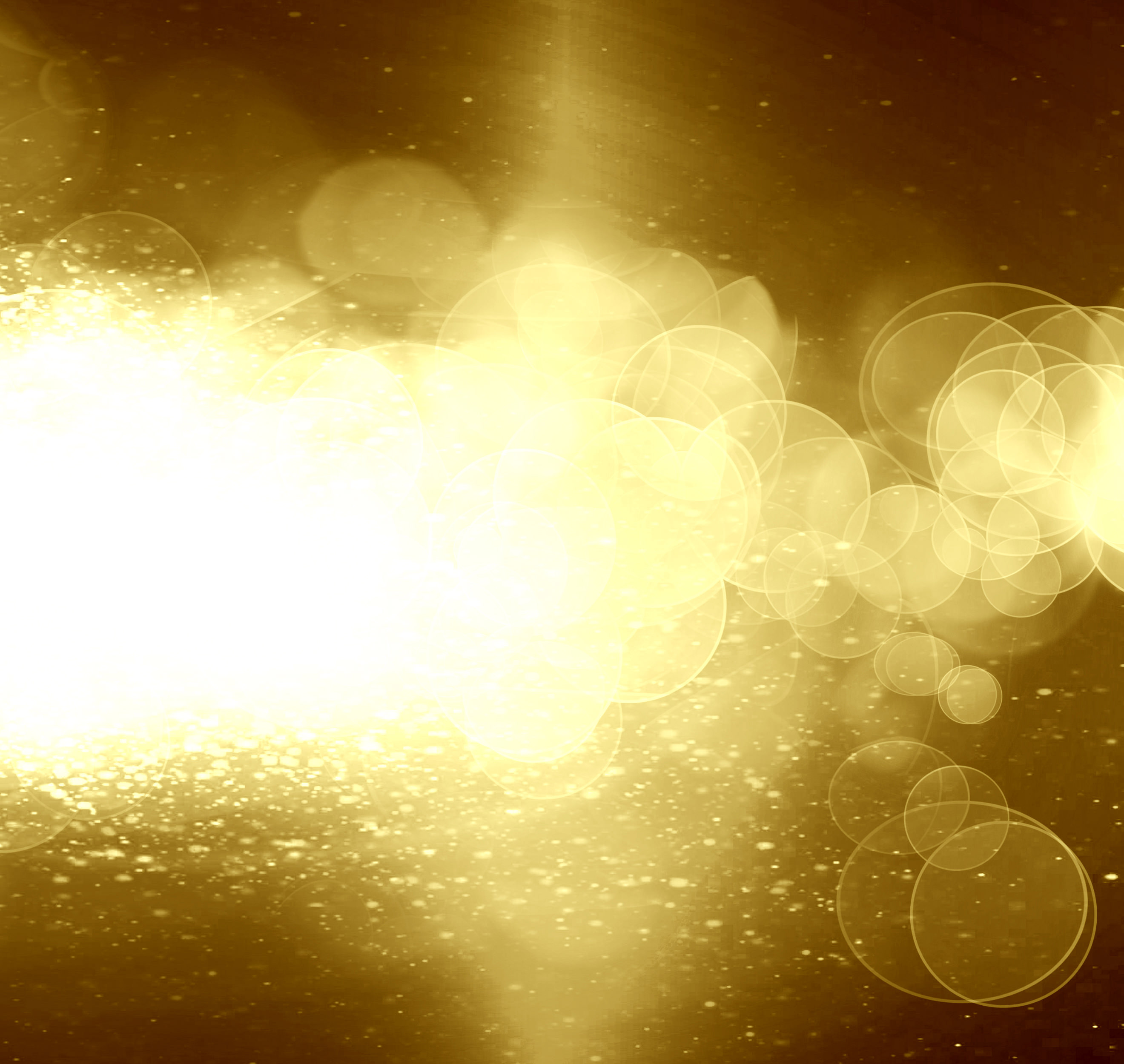 Amazing Gold Glitter Background