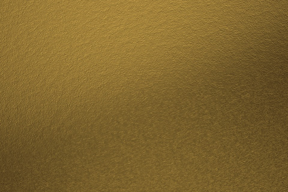 Shiny Gold Metal Background