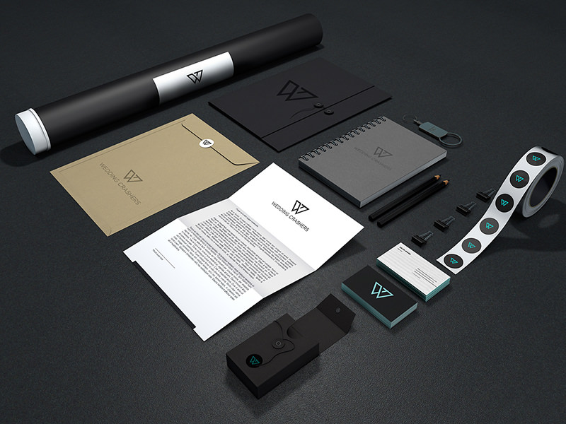 Stationary Branding Mockup Design