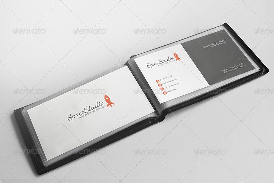 Stationary Identity Branding Mockup Display
