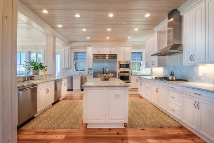 20 spacious kitchen designs decorating ideas design for Beach inspired kitchen designs