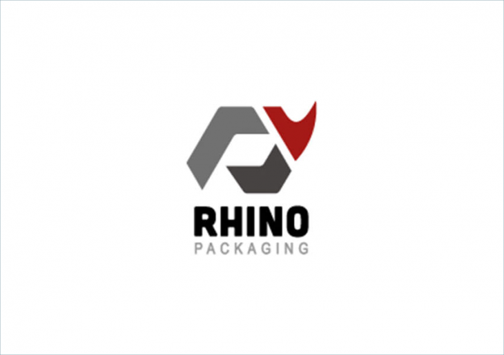 Rhino Packaging Logo Design