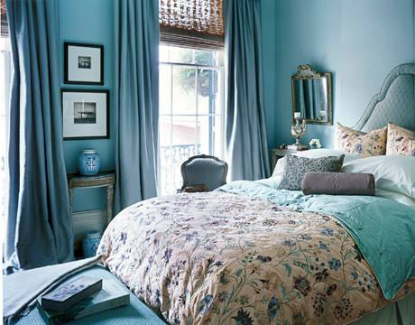Lovely Bed Room Paint Design