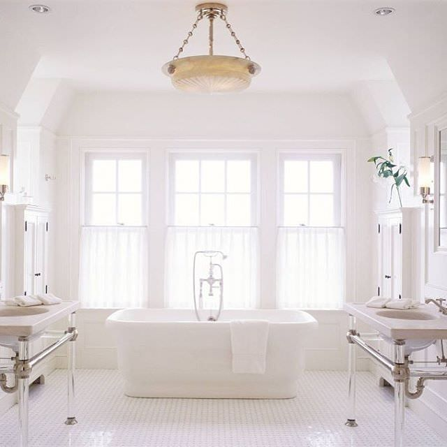 Float White Bath Rooms Design