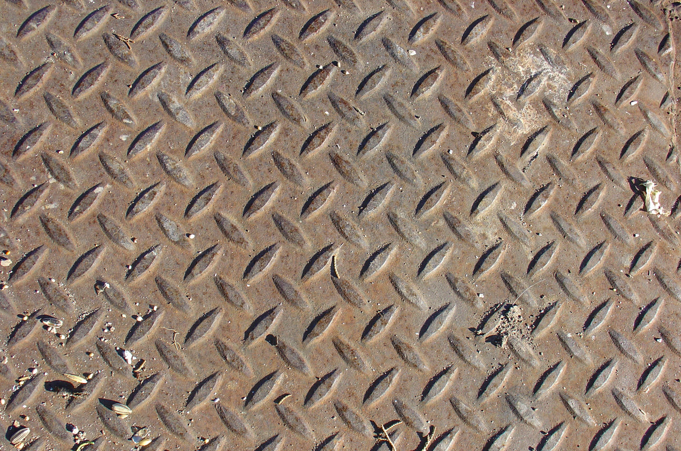 Rusted Diamond Plate Texture