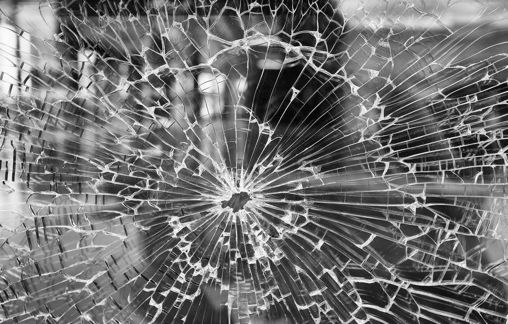 Broken Glass Graphic