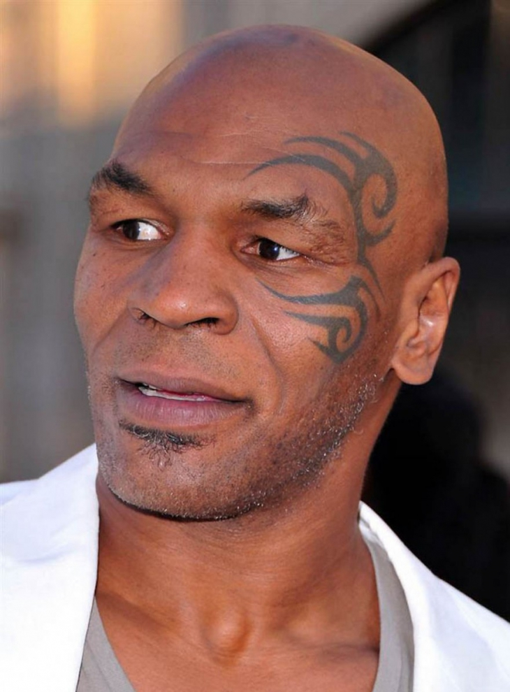 Mike Tyson Polynesian Tattoo