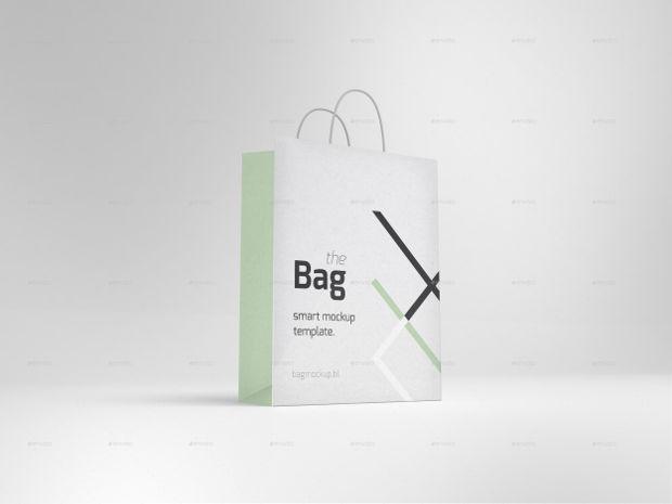 Smart Shopping Bag Mock-up Idea