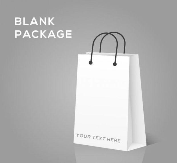 Blank Bag Mockup Template