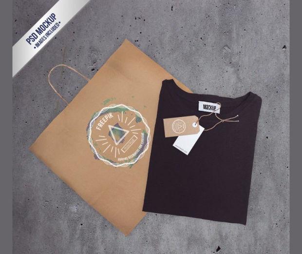 Bag and T-Shirt Representation