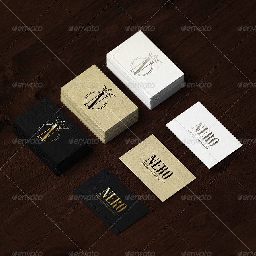 Amazing Pack of Business Card Mockup