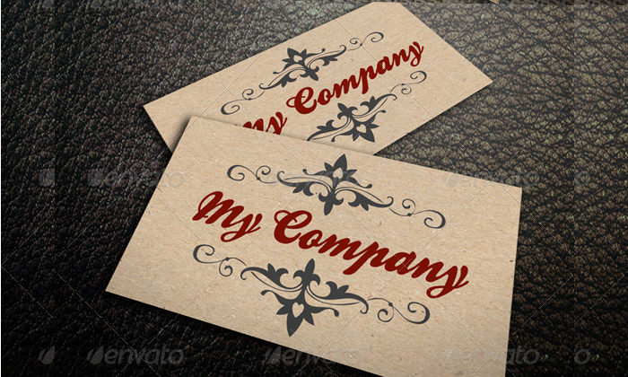 Sample Business Card Mockup Deisgns