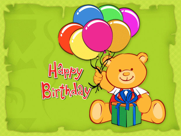 Birthday Background for Kids