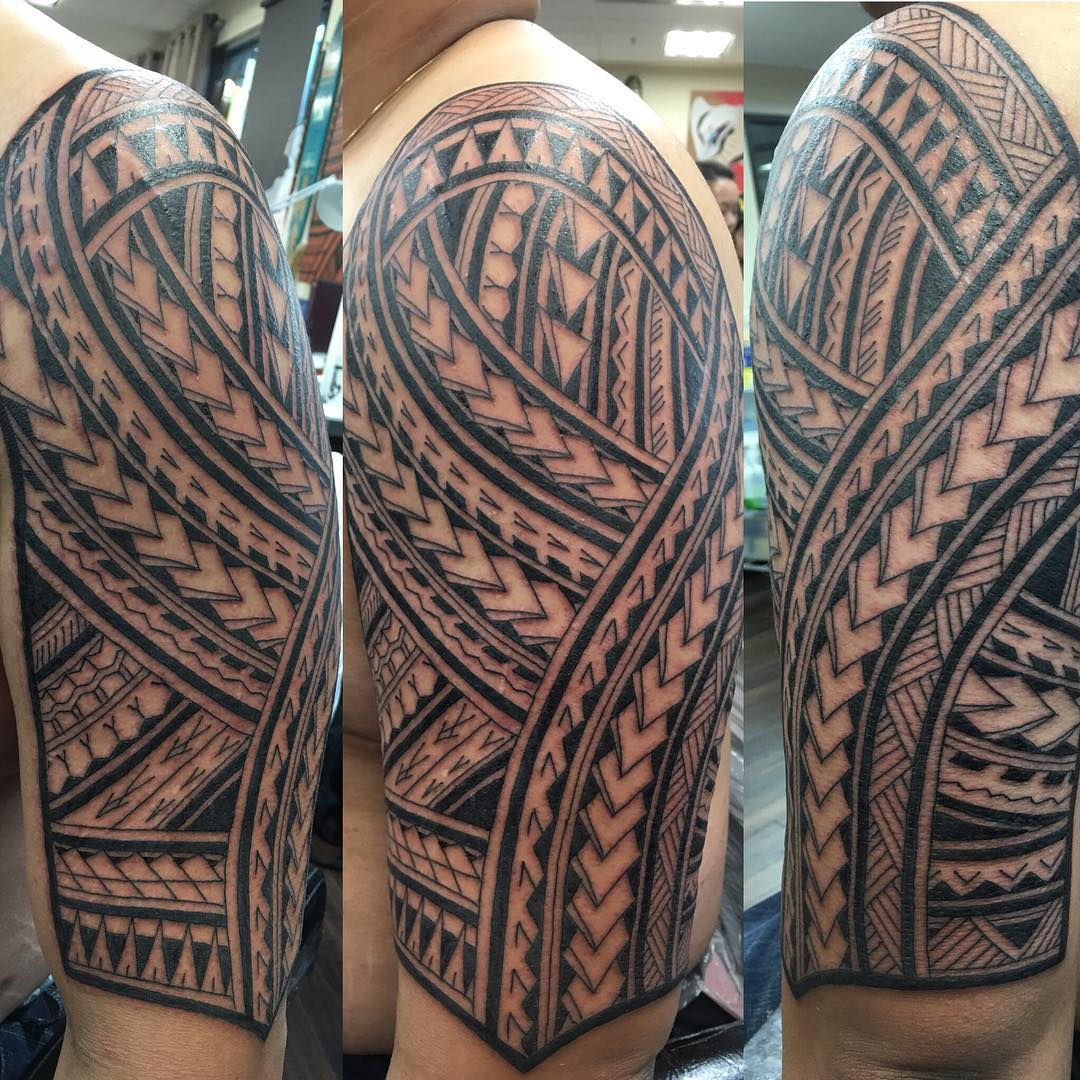 polynesian tribal sleeve