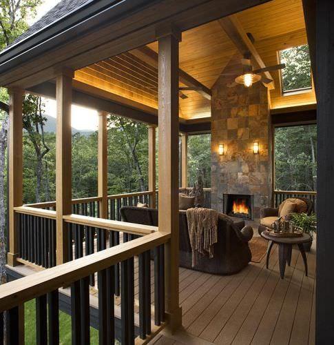 Home Deck Design Ideas: 34+ Rustic Deck Designs