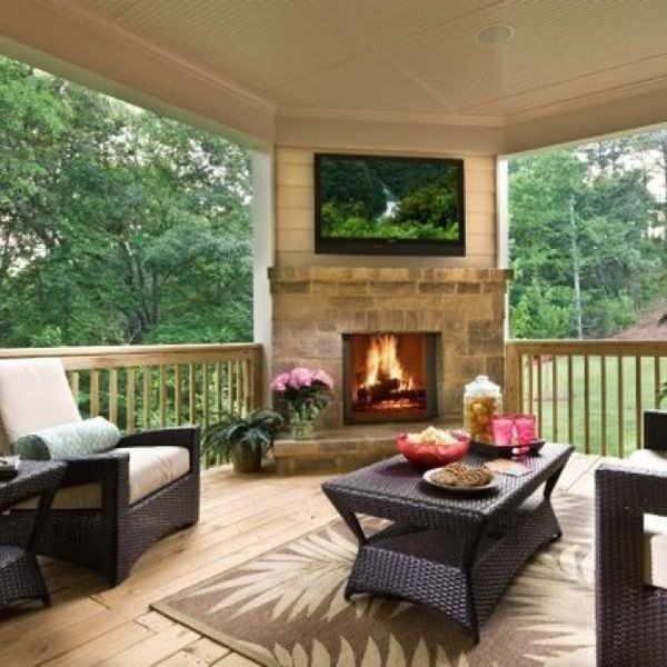 34+ Rustic Deck Designs