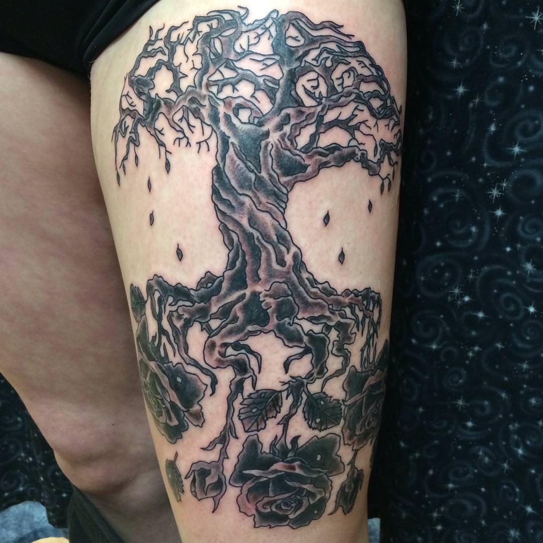 35+ Tree Tattoo Designs