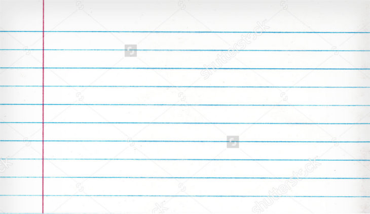 Notebook Lined Paper Texture