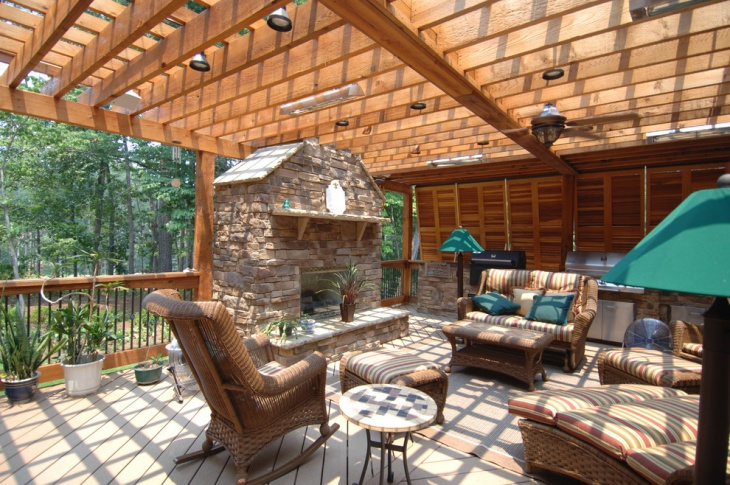 18 Rustic Deck Designs Ideas Design Trends Premium